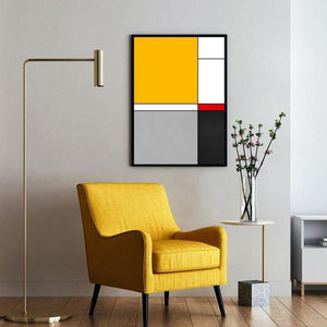 Geometric Abstract by Piet Mondrian Artwork from Gallery Wallrus | Eclectic Wall Art & Decor with Worldwide Shipping