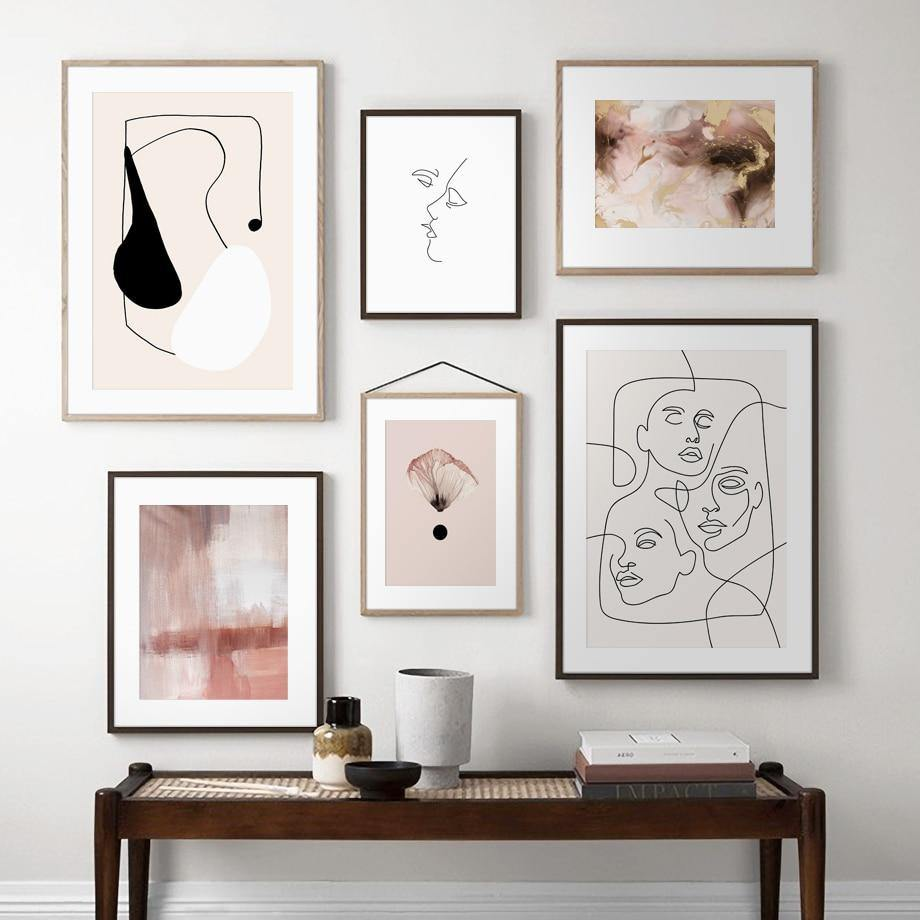 Abstract Line Drawing and Photography Minimalist Artwork Gallery Wall Prints from Gallery Wallrus | Eclectic Wall Art & Decor with Worldwide Shipping