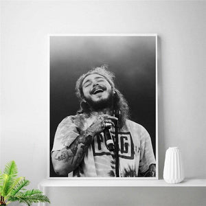 Post Malone Cool Picture Wall Art Prints from Gallery Wallrus | Eclectic Wall Art & Decor with Worldwide Shipping