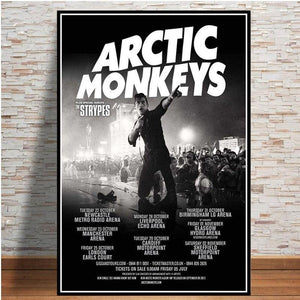 Posters and Prints Arctic Monkeys Music Band Quote Poster Wall Art Picture Canvas Painting For Room Home Decor from Gallery Wallrus | Eclectic Wall Art & Decor with Worldwide Shipping