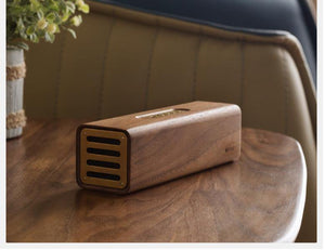 Walnut Bluetooth Speaker from Gallery Wallrus | Eclectic Wall Art & Decor with Worldwide Shipping