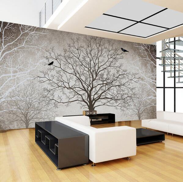 Big Tree Branches Nature Wall Mural from Gallery Wallrus | Eclectic Wall Art & Decor with Worldwide Shipping