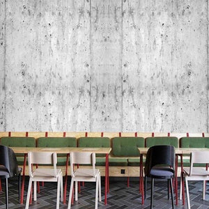 Retro Industrial Gray Cement Wall Mural from Gallery Wallrus | Eclectic Wall Art & Decor with Worldwide Shipping