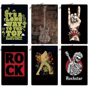 Hard Rock Gallery Wall Art Poster Signs Mix & Match from Gallery Wallrus | Eclectic Wall Art & Decor with Worldwide Shipping