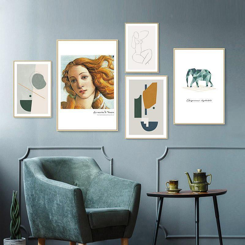 Vogue Gallery Wall Mix & Match from Gallery Wallrus | Eclectic Wall Art & Decor with Worldwide Shipping