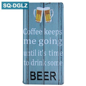 Funny Beer Metal Wall Decor Metal Art from Gallery Wallrus | Eclectic Wall Art & Decor with Worldwide Shipping