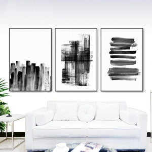 Black & White Minimalist Abstract Artwork from Gallery Wallrus | Eclectic Wall Art & Decor with Worldwide Shipping