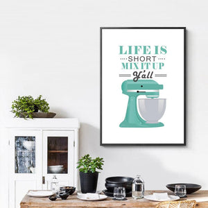 Retro Kitchen Wall Art Pictures 1 from Gallery Wallrus | Eclectic Wall Art & Decor with Worldwide Shipping