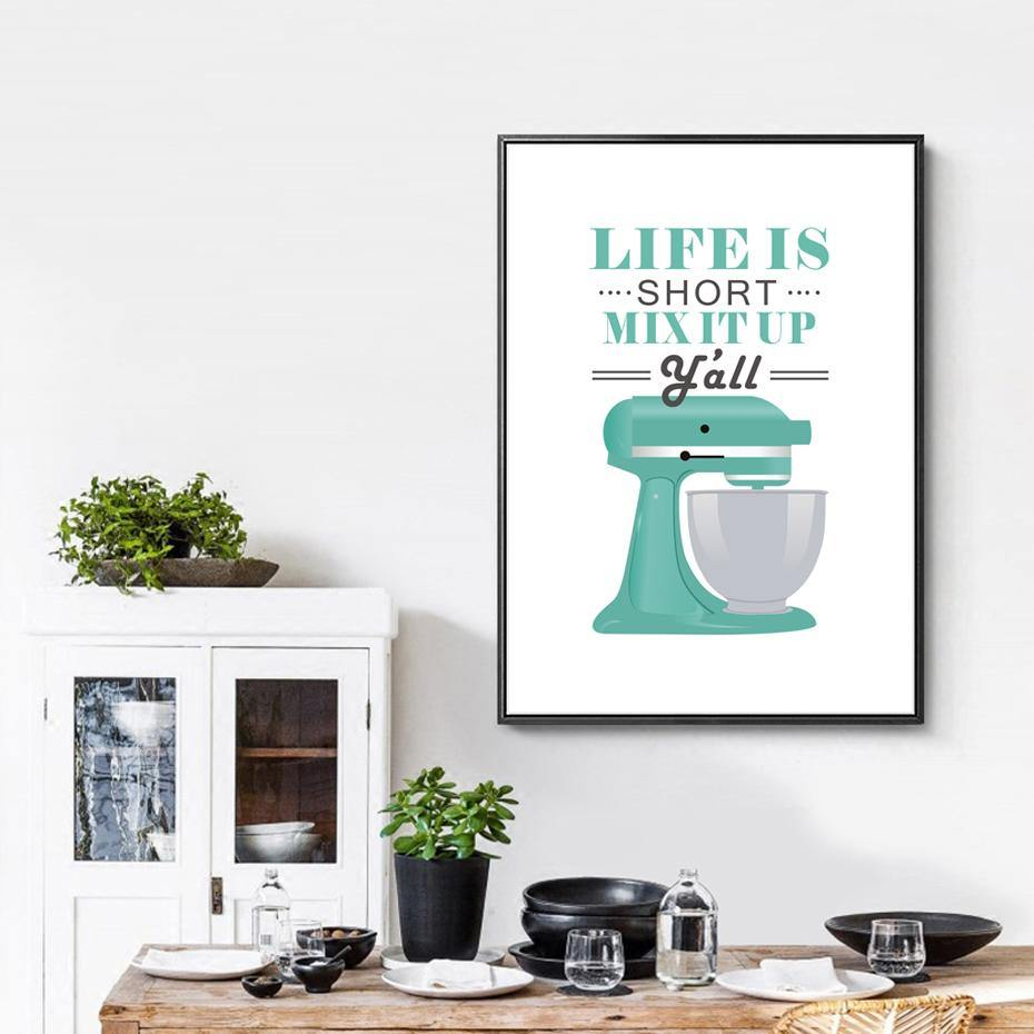 Retro Kitchen Wall Art Pictures from Gallery Wallrus | Eclectic Wall Art & Decor with Worldwide Shipping