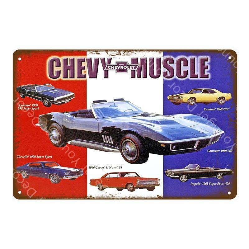 Vintage Classic Car Gallery Wall Art Signs Mix & Match from Gallery Wallrus | Eclectic Wall Art & Decor with Worldwide Shipping