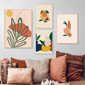 Peach Tones Abstract Gallery Wall Art from Gallery Wallrus | Eclectic Wall Art & Decor with Worldwide Shipping