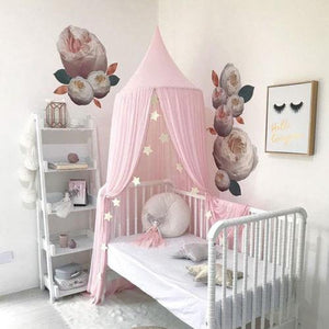 Baby Cot Canopy from Gallery Wallrus | Eclectic Wall Art & Decor with Worldwide Shipping