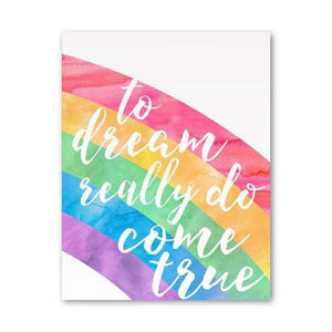 Continuous Rainbow Gallery Wall Art Print Set from Gallery Wallrus | Eclectic Wall Art & Decor with Worldwide Shipping