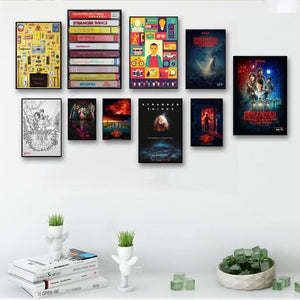 Stranger Things Picture Wall Art Prints from Gallery Wallrus | Eclectic Wall Art & Decor with Worldwide Shipping