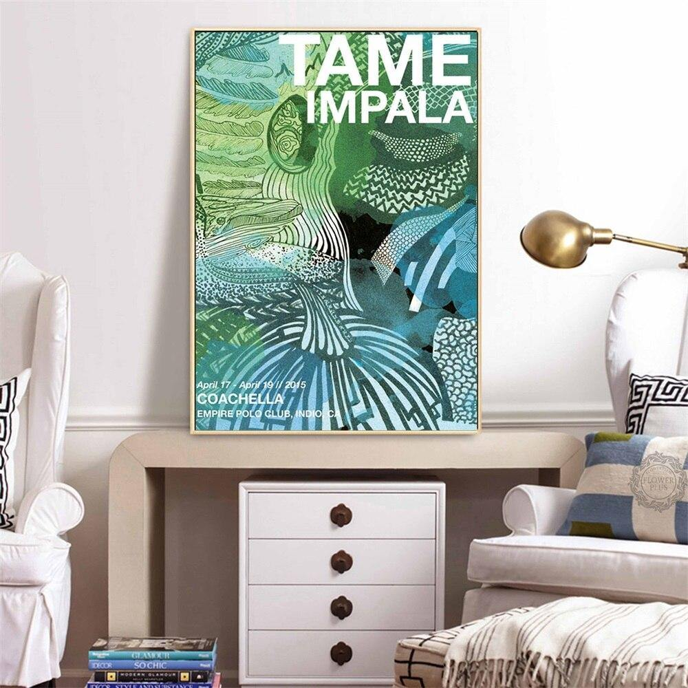 Trippy Psychedelic Dance Music Tame Impala Gallery Wall Art Pictures 2 from Gallery Wallrus | Eclectic Wall Art & Decor with Worldwide Shipping