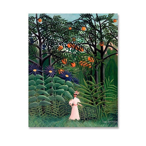 1910 The Dream by Henri Rousseau Artworks from Gallery Wallrus | Eclectic Wall Art & Decor with Worldwide Shipping