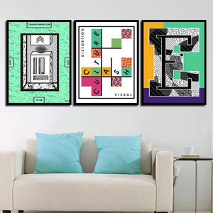 Visual Distortion Art Prints Mix & Match from Gallery Wallrus | Eclectic Wall Art & Decor with Worldwide Shipping