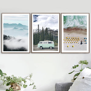 Travelling Scenery Photography Art Prints Mix & Match from Gallery Wallrus | Eclectic Wall Art & Decor with Worldwide Shipping