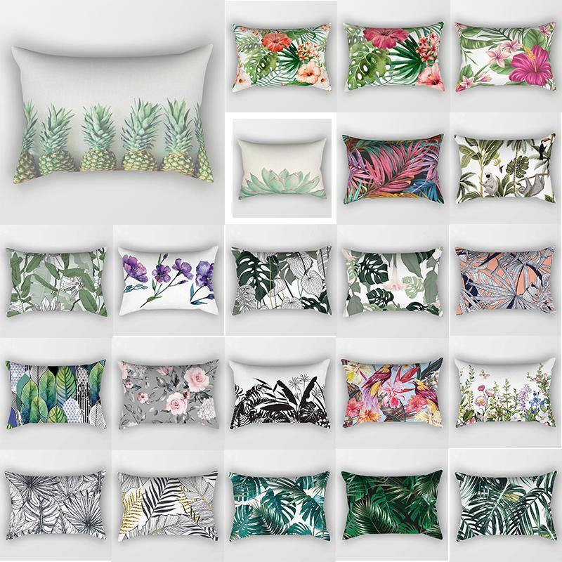 Tropical Floral Bed Pillow Cases (Various Designs) from Gallery Wallrus | Eclectic Wall Art & Decor with Worldwide Shipping