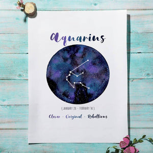 Twelve Constellation Astrology Pictures Gallery Wall Mix & Match 2 from Gallery Wallrus | Eclectic Wall Art & Decor with Worldwide Shipping