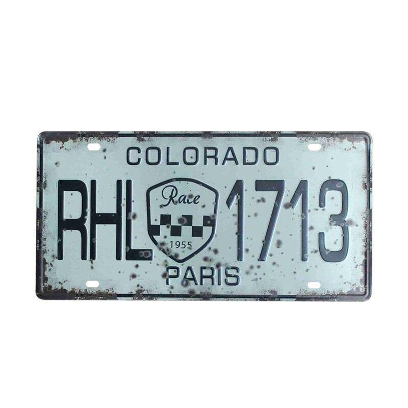 USA Colorful Car Plates from Gallery Wallrus | Eclectic Wall Art & Decor with Worldwide Shipping