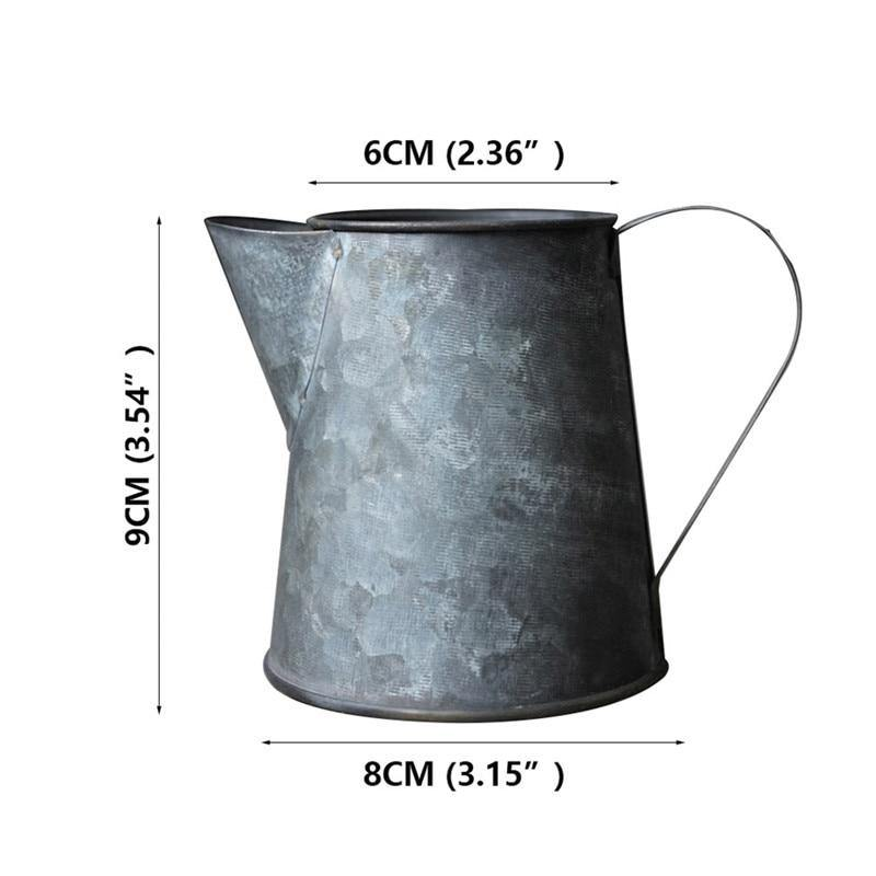 Vintage Iron Cups and Jugs from Gallery Wallrus | Eclectic Wall Art & Decor with Worldwide Shipping
