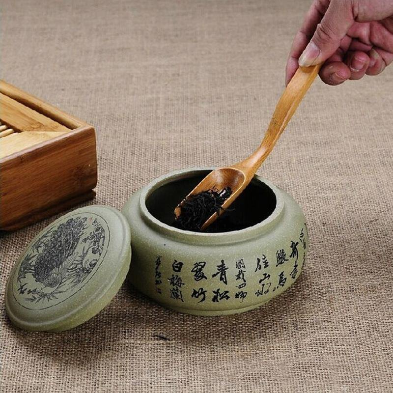 Natural Wooden Tea Scoop from Gallery Wallrus | Eclectic Wall Art & Decor with Worldwide Shipping