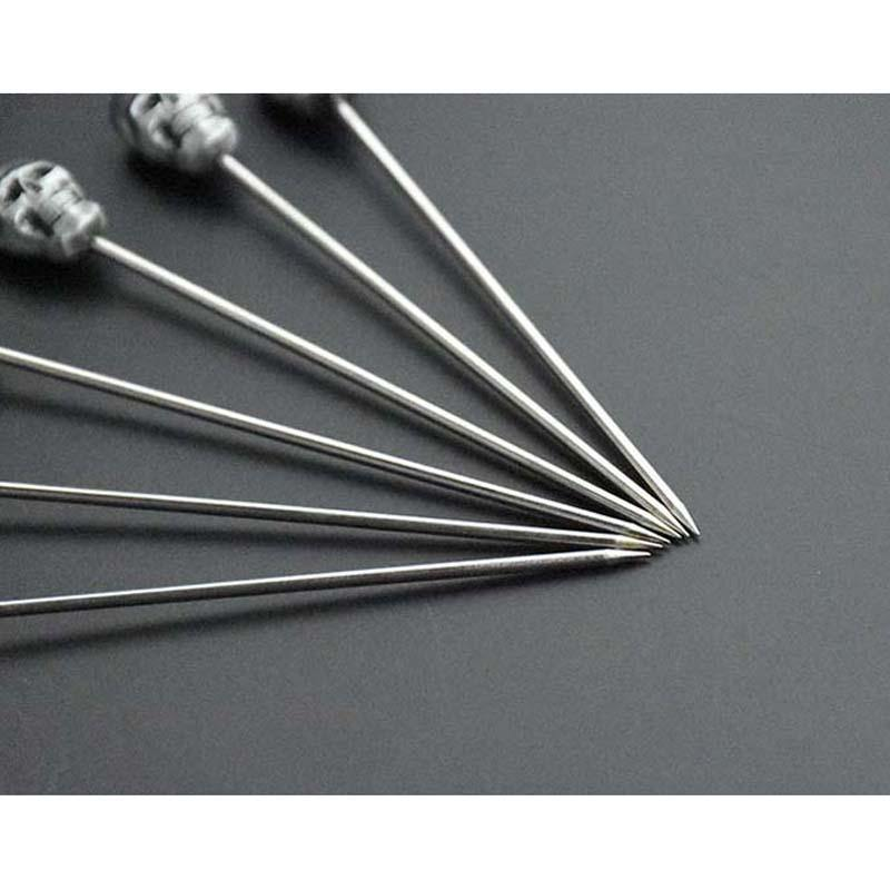 Stainless Steel Long Cocktail Swizzle Sticks from Gallery Wallrus | Eclectic Wall Art & Decor with Worldwide Shipping