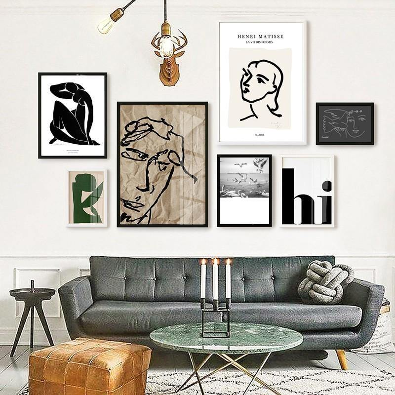 Henri Matisse Cool Mix and Match Gallery Wall Prints from Gallery Wallrus | Eclectic Wall Art & Decor with Worldwide Shipping