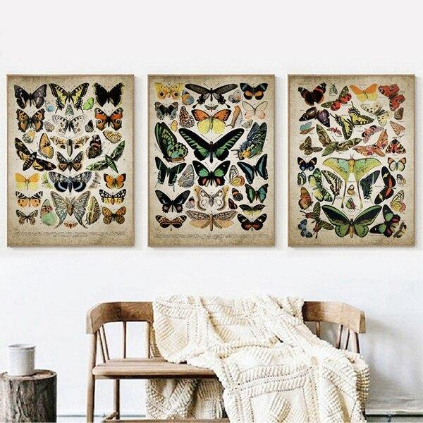 Vintage Butterfly Lepidopterist Gallery Wall Art Prints from Gallery Wallrus | Eclectic Wall Art & Decor with Worldwide Shipping