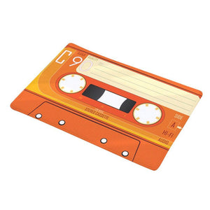 Cassette Tape Doormat (Various Designs) from Gallery Wallrus | Eclectic Wall Art & Decor with Worldwide Shipping