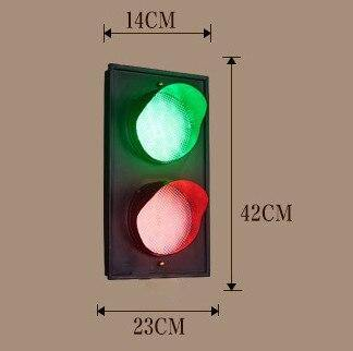 Traffic Lights Wall Lamp (3 colors) from Gallery Wallrus | Eclectic Wall Art & Decor with Worldwide Shipping