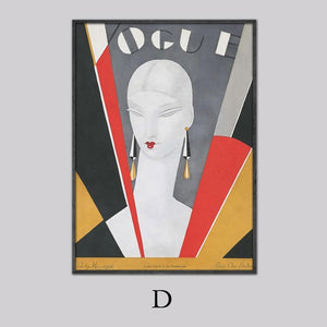 Art Deco Vogue Wall Art Mix & Match from Gallery Wallrus | Eclectic Wall Art & Decor with Worldwide Shipping