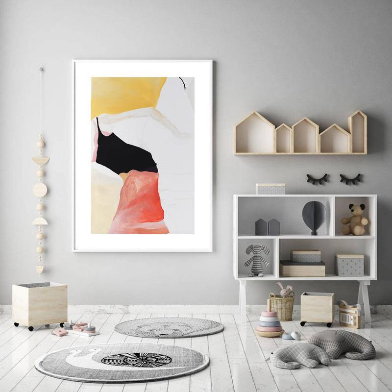 Cool Subtle Abstract Minimalist Gallery Wall Artwork Set from Gallery Wallrus | Eclectic Wall Art & Decor with Worldwide Shipping