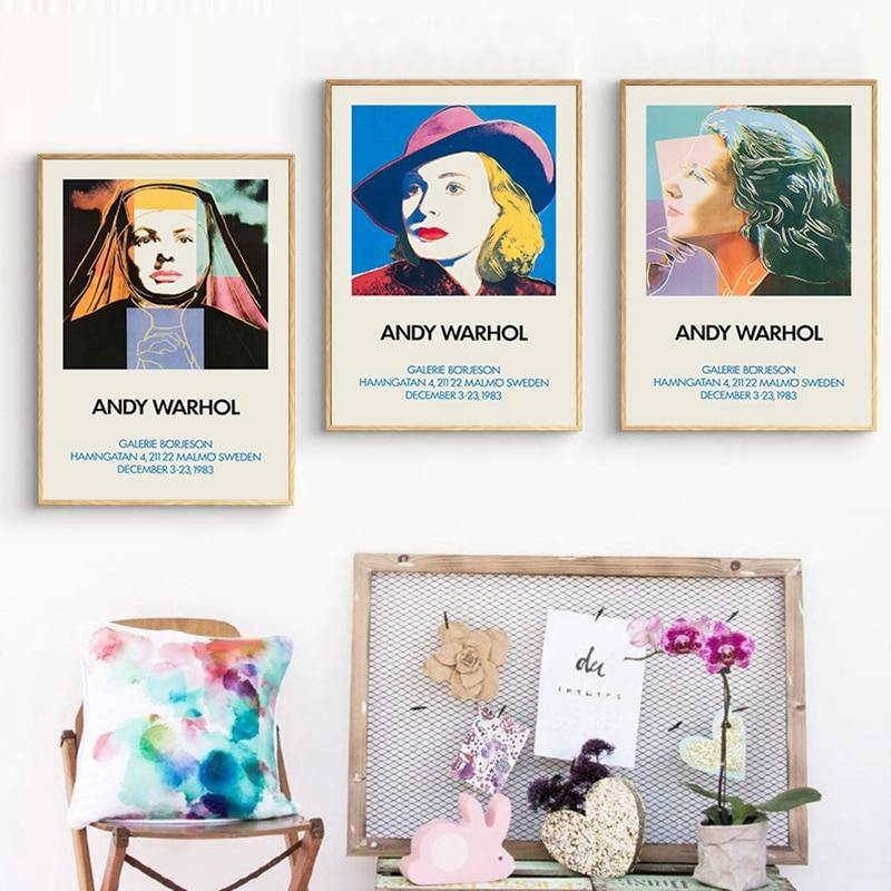Vintage Women by Andy Warhol Wall Pop Art Prints from Gallery Wallrus | Eclectic Wall Art & Decor with Worldwide Shipping