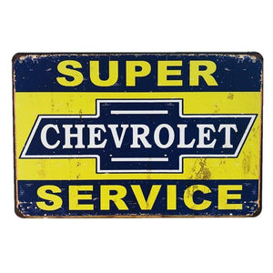 Vintage Car Garage & Mechanic Wall Signs from Gallery Wallrus | Eclectic Wall Art & Decor with Worldwide Shipping