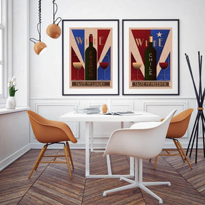French & Chile Wine Art Wall Prints from Gallery Wallrus | Eclectic Wall Art & Decor with Worldwide Shipping