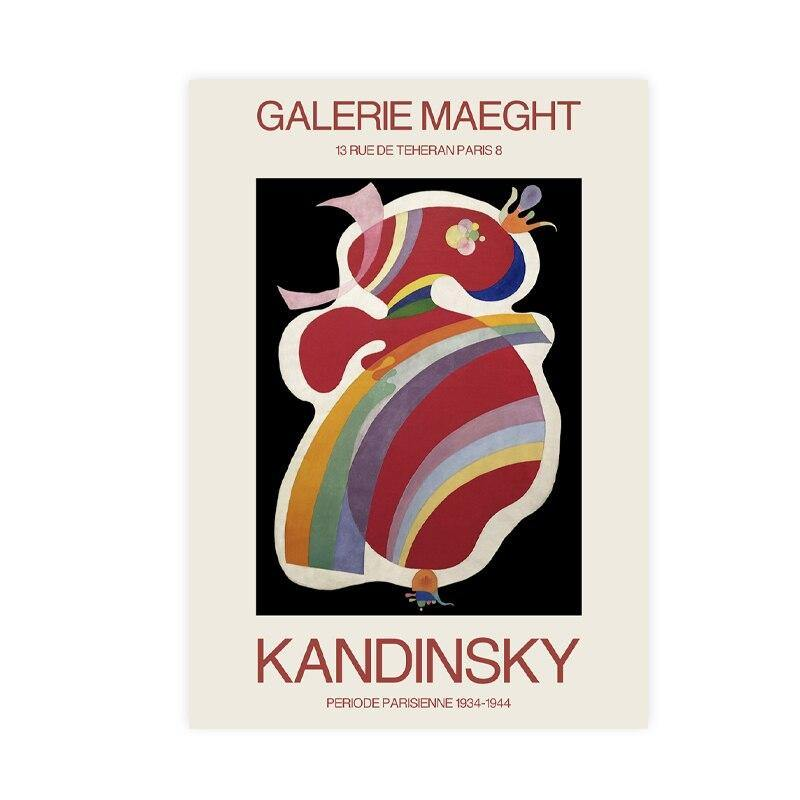 1960's Wassily Kandinsky Wall Art Print Set from Gallery Wallrus | Eclectic Wall Art & Decor with Worldwide Shipping