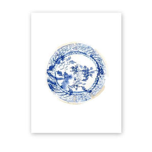 Ornate Blue Chinoiserie Vase Gallery Wall Art Picture Prints from Gallery Wallrus | Eclectic Wall Art & Decor with Worldwide Shipping