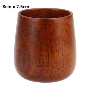 Handcrafted Wooden Cup Tumbler from Gallery Wallrus | Eclectic Wall Art & Decor with Worldwide Shipping