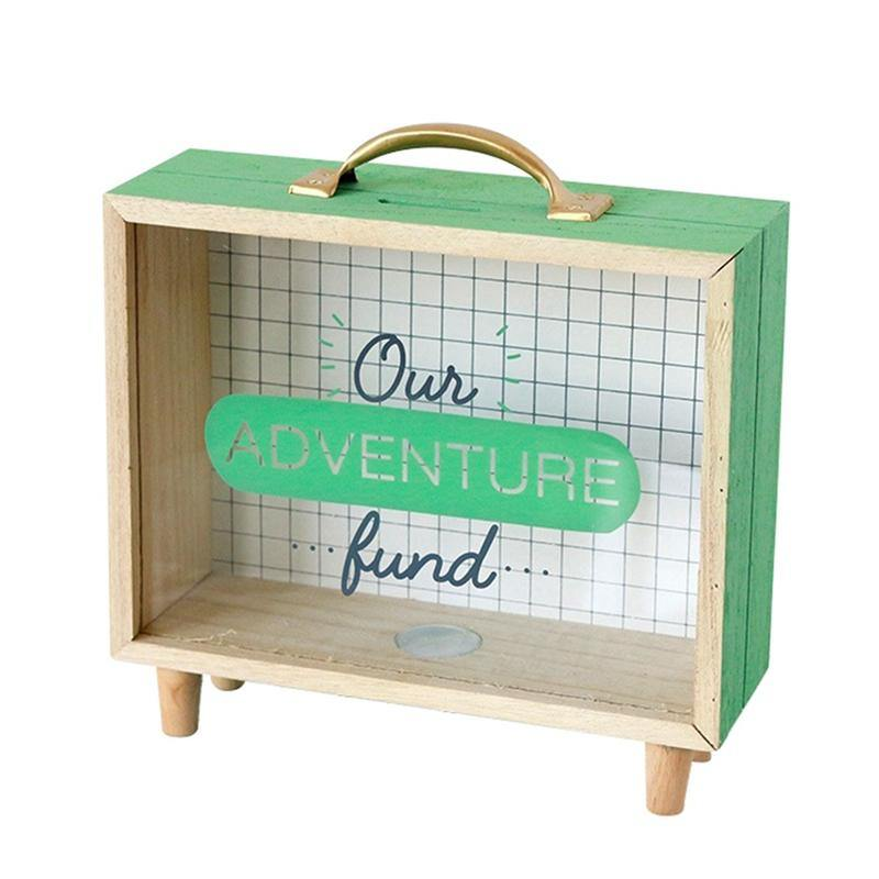 Vacation Travel Fund Boxes from Gallery Wallrus | Eclectic Wall Art & Decor with Worldwide Shipping