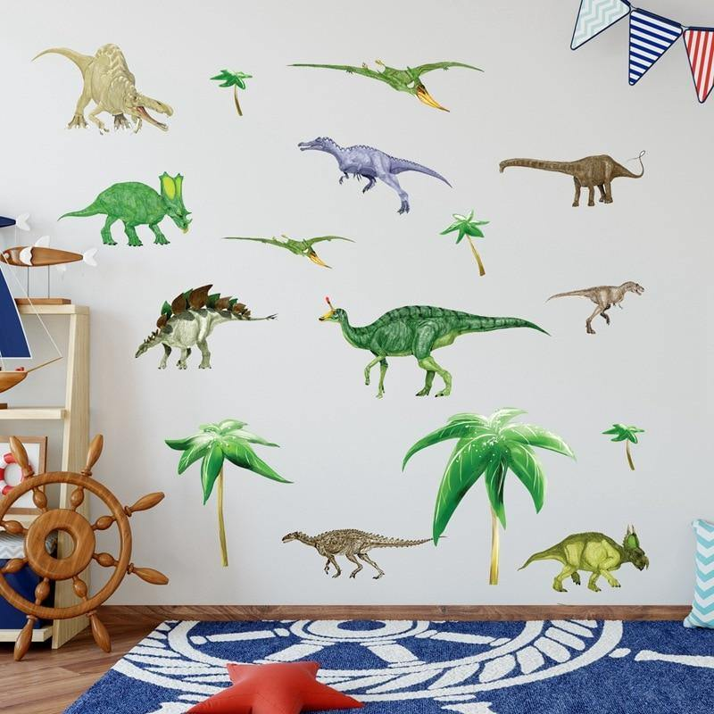 Ancient Dinosaurs Kids Room Wall Stickers from Gallery Wallrus | Eclectic Wall Art & Decor with Worldwide Shipping