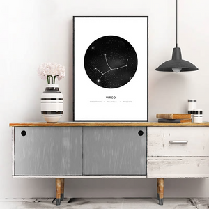Personalized Astrology Art from Gallery Wallrus | Eclectic Wall Art & Decor with Worldwide Shipping