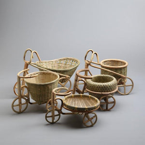 Kitchen Rattan Wicker Straw Food Baskets from Gallery Wallrus | Eclectic Wall Art & Decor with Worldwide Shipping