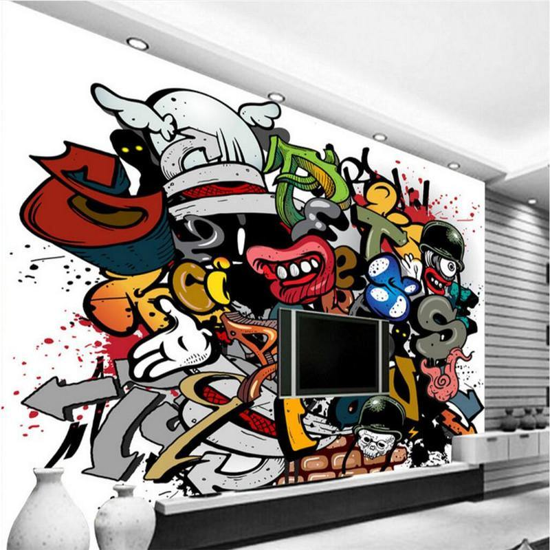 Grafitti Hiphop Art Wall Mural from Gallery Wallrus | Eclectic Wall Art & Decor with Worldwide Shipping