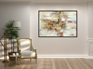 Hand Painted Abstract Art Piece: Breatharian from Gallery Wallrus | Eclectic Wall Art & Decor with Worldwide Shipping