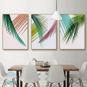 Minimalist Plant Gallery Wall Set of 3 Art Prints from Gallery Wallrus | Eclectic Wall Art & Decor with Worldwide Shipping