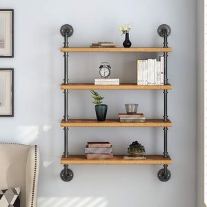 Industrial Pipe Shelves (USA Only) from Gallery Wallrus | Eclectic Wall Art & Decor with Worldwide Shipping