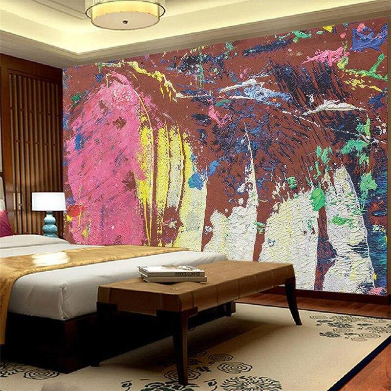Modern Abstract Oil Painting Wall Mural from Gallery Wallrus | Eclectic Wall Art & Decor with Worldwide Shipping