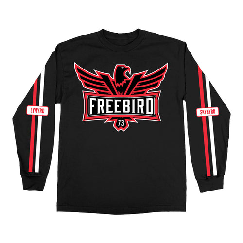 Long Sleeve Freebird Tee-Lynyrd Skynyrd